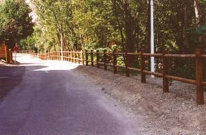 Barrières en bord de route