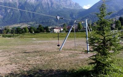 Installation de jeux à grimper ( KOMPAN)